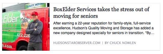 BoxElder - Hudson Star-Observer